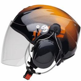 Icaro Solar X - Paramotor Helmet Orange