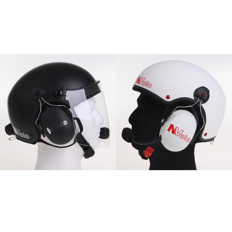 No headset or visor order these separately Icaro Solar X PPG paramotor helmet